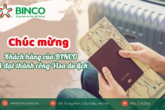 BINCO xin chúc mừng 02 khách hàng đã được cấp visa du lịch trong tháng 2 năm 2020