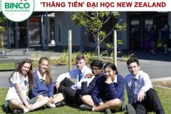 Học sinh trung học 'thẳng tiến' đại học New Zealand