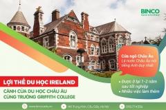 LỢI THẾ DU HỌC IRELAND VÀ NHỮNG CƠ HỘI KHÔNG THỂ BỎ QUA TỪ TRƯỜNG GRIFFITH COLLEGE