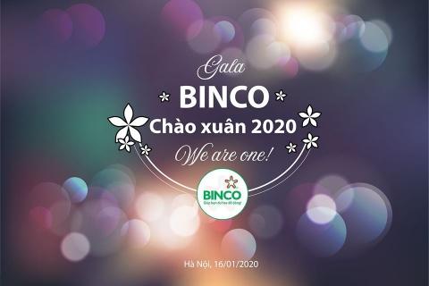 CHƯƠNG TRÌNH GALA CHÀO XUÂN 2020 CỦA BINCO