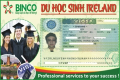 Vinh danh em Nguyễn Hồng Quân được cấp visa du học Ireland