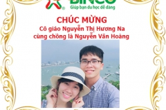 Chúc mừng cô giáo Nguyễn Thị Hương Na cùng chồng là Nguyễn Văn Hoàng đã nhận được visa du học Úc tại thành phố Melbourne