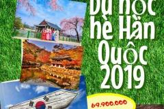 Du học hè Hàn Quốc 2019