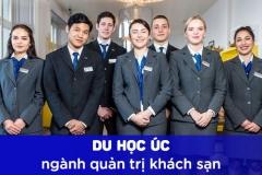 Học ngành Quản trị khách sạn tại Úc