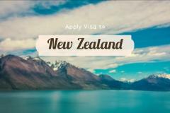 KINH NGHIỆM XIN VISA DU LỊCH NEW ZEALAND TỰ TÚC ONLINE