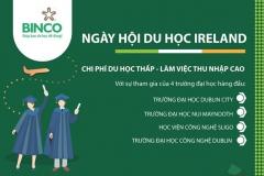 TƯNG BỪNG BUỔI HỘI THẢO ĐÓN ĐẠI DIỆN TUYỂN SINH CỦA 4 TRƯỜNG ĐẠI HỌC HÀNG ĐẦU IRELAND