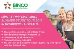 Du học hè Binco 2019 -  Summer study tour 2019 in Melbourne - Australia