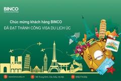BINCO xin chúc mừng đại gia đình gồm 5 người đã có visa du lịch Úc