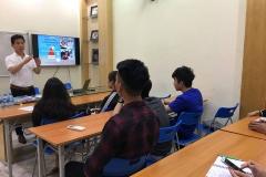 Hội thảo về chương trình dự bị đại học tại trường Taylor College